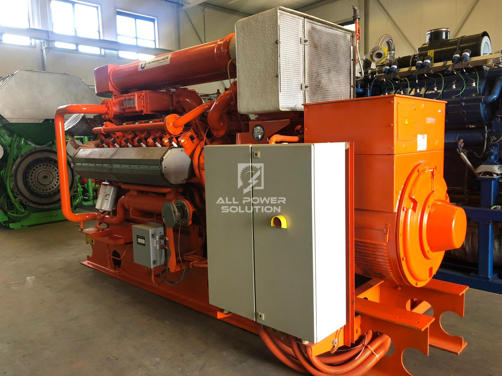 Used gas generators for sale | All Power Solution